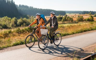 RAVeL : family bicycle outing in the Euregio