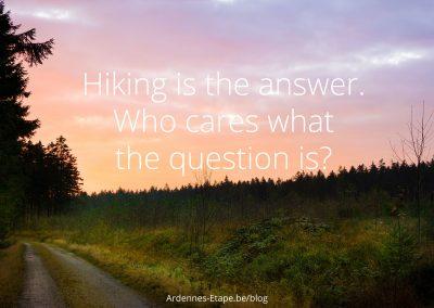 hiking-answer