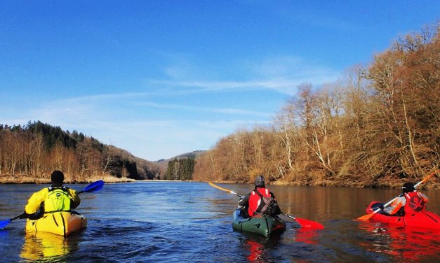 The PackRaft, a new authentic experience in the Ardennes