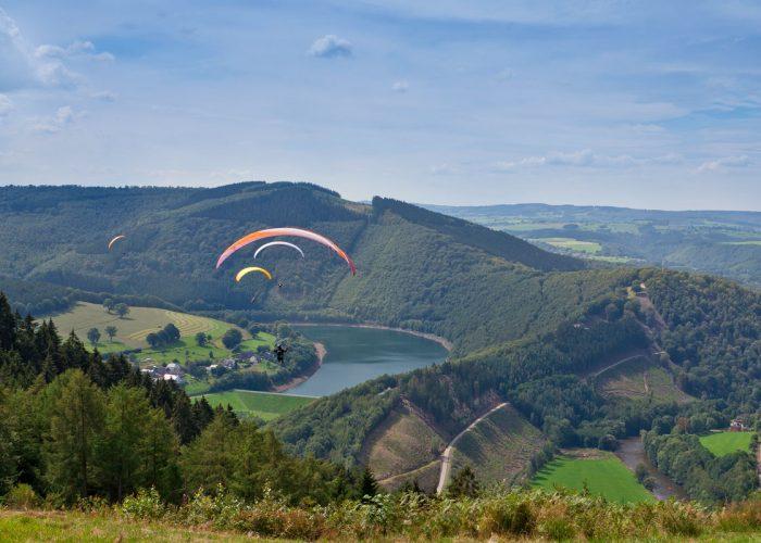 Breathtaking landscape Ardennes