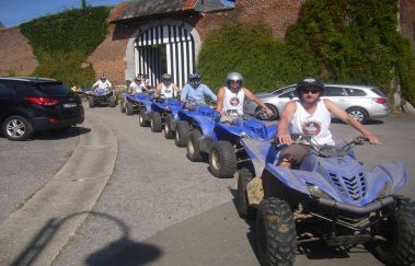 Formul'Quads-Sports Aventure to Province of Liège