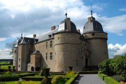 Castle of Lavaux-Sainte-Anne in Province of Namur