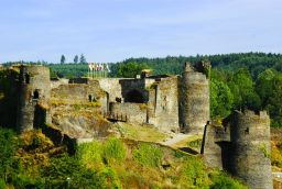 La Roche Castle in Province of Luxembourg