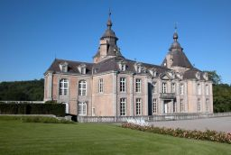 The Castle of Modave in Province of Liège