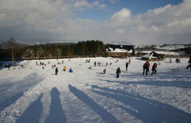 Baraque Fraiture Ski Station-Ski de fond to Province of Luxembourg