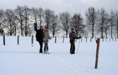 Piste de ski du Centre Sportif Worriken-Ski de fond to Province of Liège