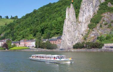 <p>Dinant Evasion : croisières sur Meuse</p>-Croisière to Province of Namur