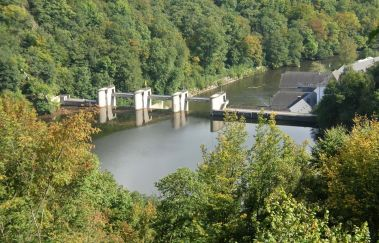 Barrage et Lac de Nisramont-Lac to Province of Luxembourg