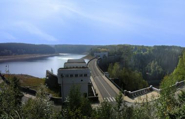 Lake and Dam - Eupen-Lac to Province of Liège