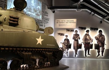 Bastogne War Museum-Musée to Province of Luxembourg