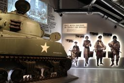 Bastogne War Museum in Province of Luxembourg