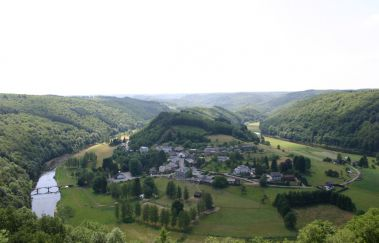 Point de vue de Frahan à Rochehaut-Point de vue to