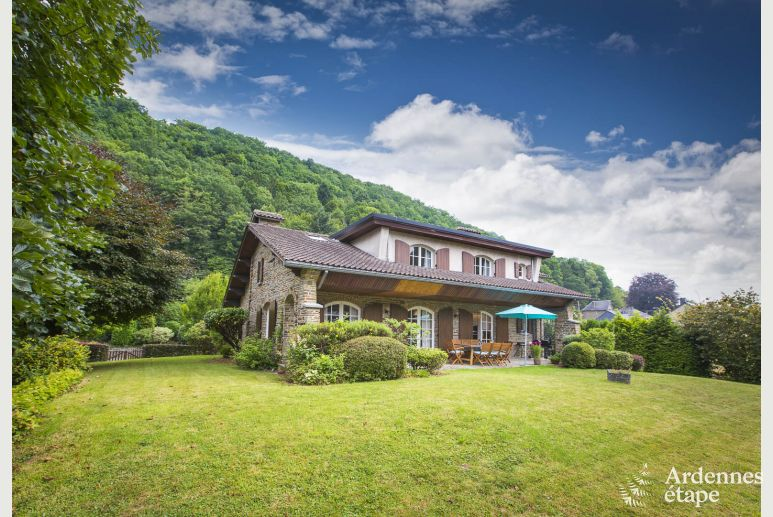Holiday house in Aywaille for eight to nine people in the Ardennes