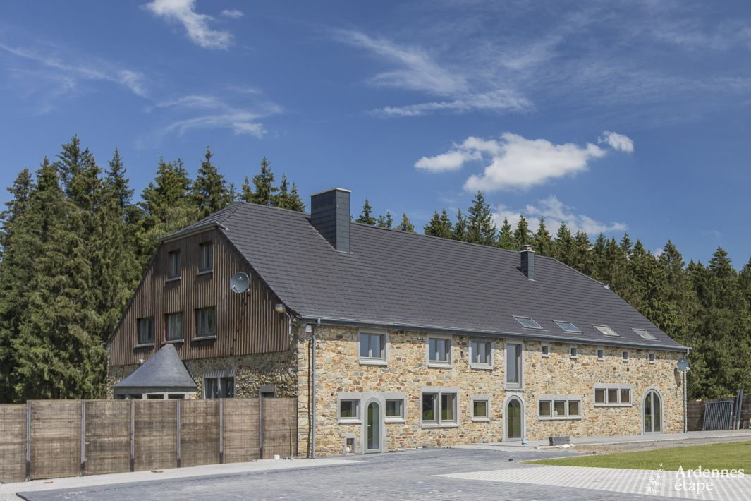 Holiday House In Baraque De Fraiture For 25 People In The Ardennes