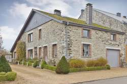 Typical gite for 9 people with relaxation area in Bertrix in the Ardennes
