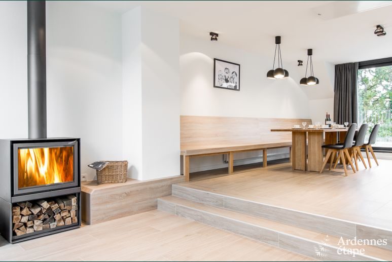 Contemporary holiday appartment in Büllingen with private sauna