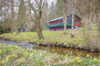 Chalet in Bullingen for 6 persons in the Ardennes