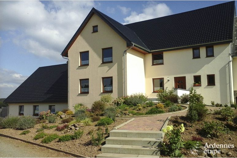 Luxury holiday villa with wellness for 30 per. in Büllingen, dogs allowed