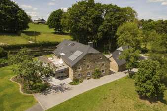 Luxury villa in Butgenbach (Heppenbach) for 10 persons in the Ardennes