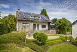 Modern 4-star holiday home in Bütgenbach for 13 persons