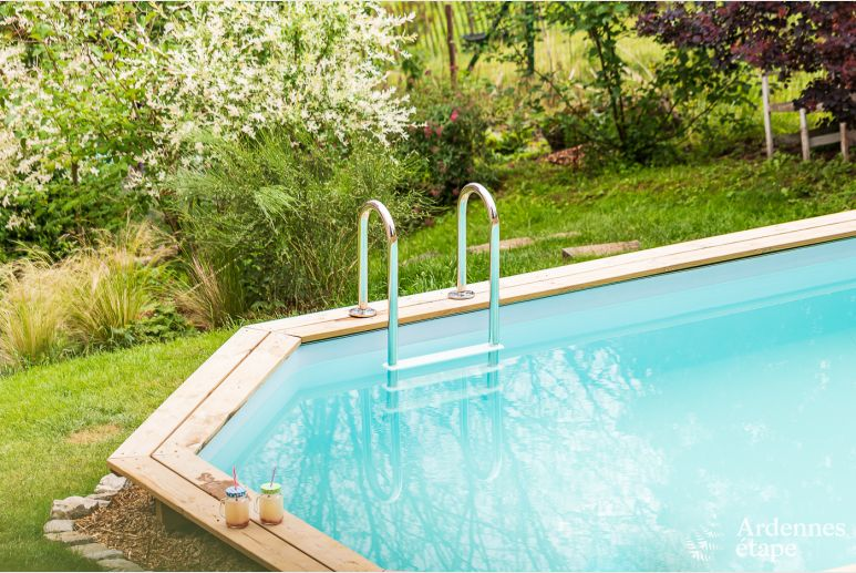 Holiday cottage in Ciney for 4/6 persons in the Ardennes