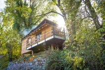 Cabin in Comblain-au-Pont for your holiday in the Ardennes with Ardennes-Etape