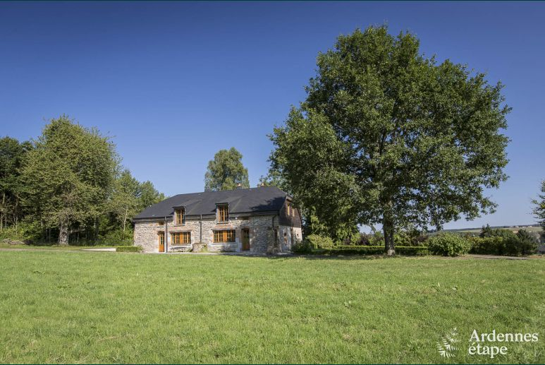 Charming cottage for 15 people with sauna in Couvin in the belgian Ardennes