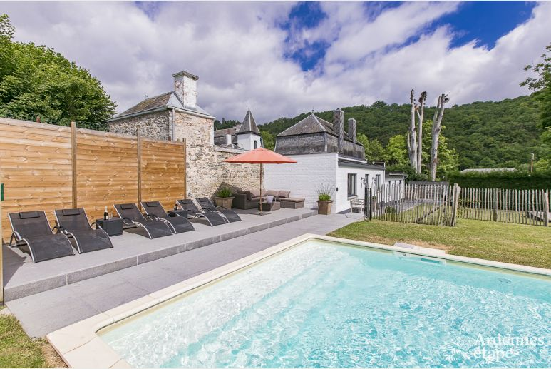 Holiday cottage in Dinant (Hastiere) for 4/5 persons in the Ardennes