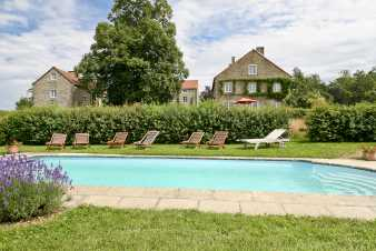 Holiday cottage in Dinant for 14 persons in the Ardennes