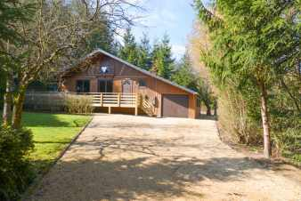 Cozy wooden chalet in Durbuy for 6/8 people in the Ardennes