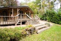 Chalet in Durbuy for your holiday in the Ardennes with Ardennes-Etape