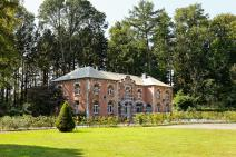 Outbuilding of castle in Durbuy for your holiday in the Ardennes with Ardennes-Etape