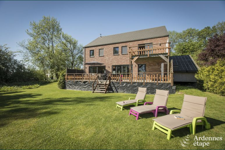 Holiday home for 9 people near Durbuy in the Ardennes