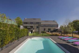 Holiday cottage in Durbuy for 12 persons in the Ardennes