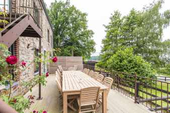 Holiday cottage in Erezée for 15 persons in the Ardennes