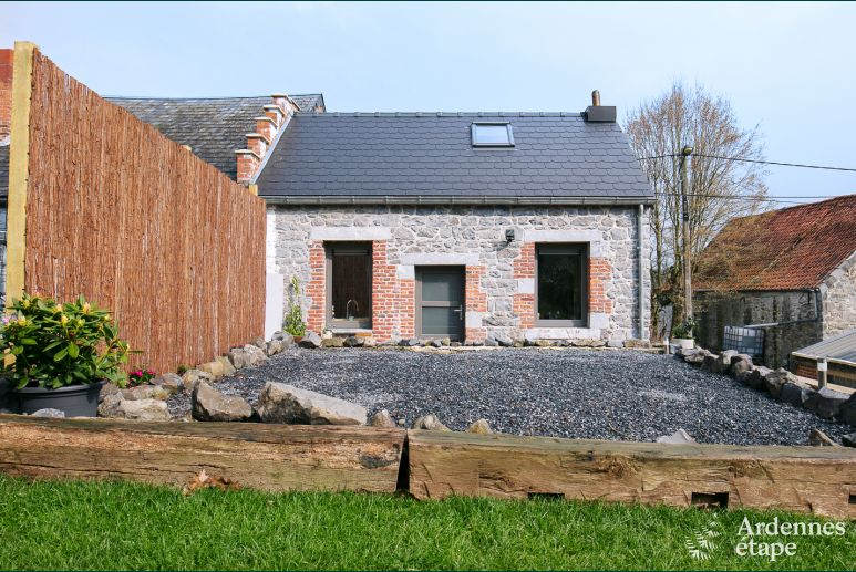 Holiday cottage in Erquelinnes for 2 persons in the Ardennes