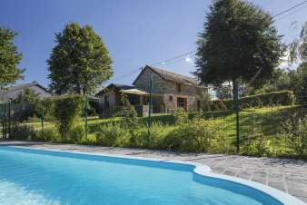 Holiday house with pool for a family holiday in Gouvy