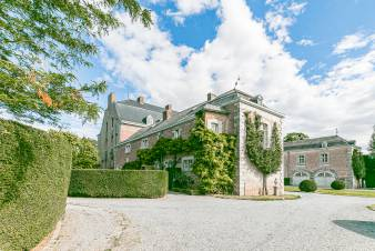 Castle in Hannut for 8 persons in the Ardennes