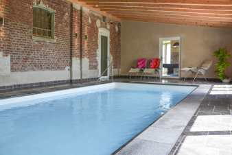 Luxury villa in Henri-Chapelle for 15 persons in the Ardennes