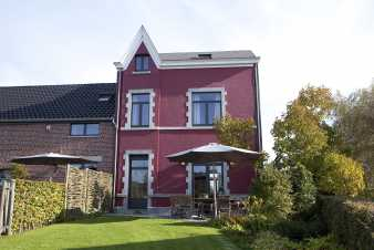 Pleasant and comfortable gite for 10 persons in Herve in the Ardennes