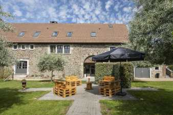 Holiday cottage in Hombourg for 12 persons in the Ardennes