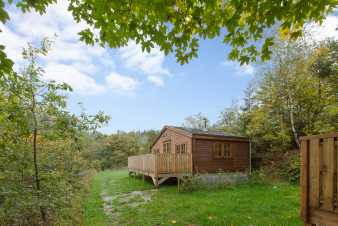 Holiday cabin for 4 persons to rent in Houffalize's idyllic setting
