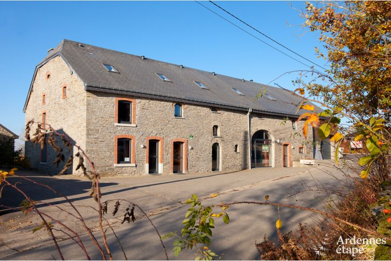 Holidays for 16 persons in a 3.5-star old mill in Houffalize
