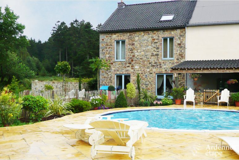 Holiday home in Jalhay (Spa) for nine people in the Ardennes
