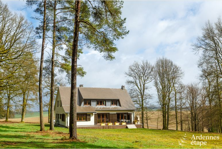 4-star luxury holiday villa for 9 pers. to rent near La-Roche-en-Ardenne