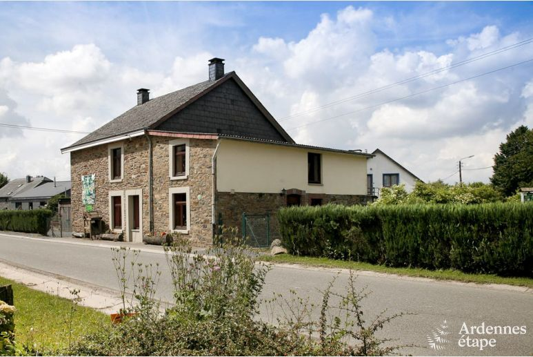 Authentic holiday house for 13 pers. to rent in La-Roche-en-Ardenne