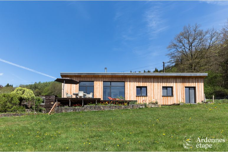 Holiday home for 4 people in Libin in the Ardennes