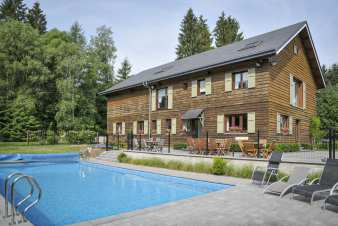 Luxury villa in Libin for 12 persons in the Ardennes