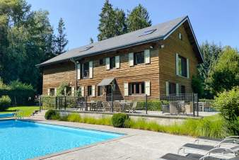 Luxury villa in Libin for 27 persons in the Ardennes