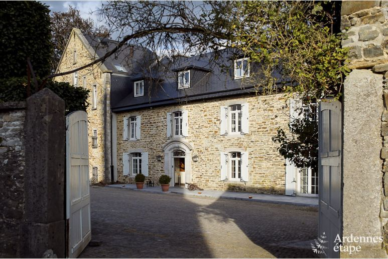 Castle in Libramont-Chevigny for 22 persons in the Ardennes